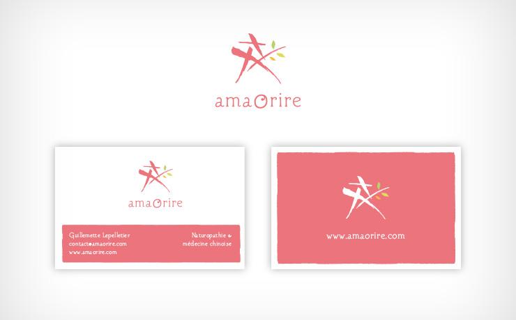cartes de visite papeterie logo