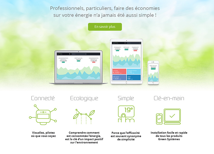 conception graphique web responsive pictogrammes