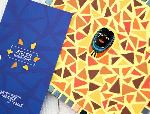 Dépliant brochure print mis en page logo